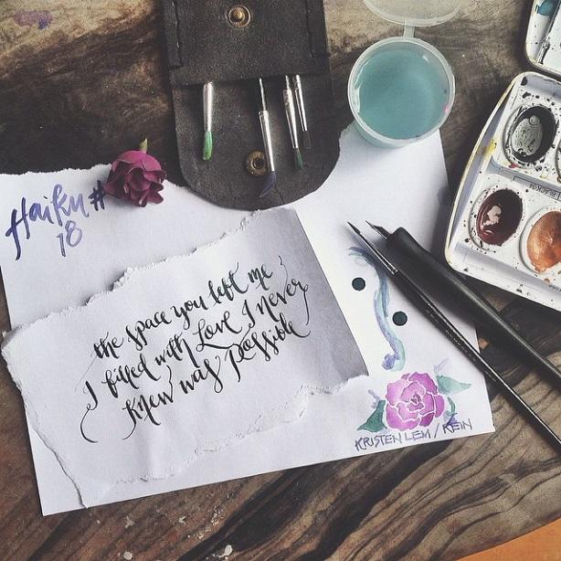 rein modern calligrapher