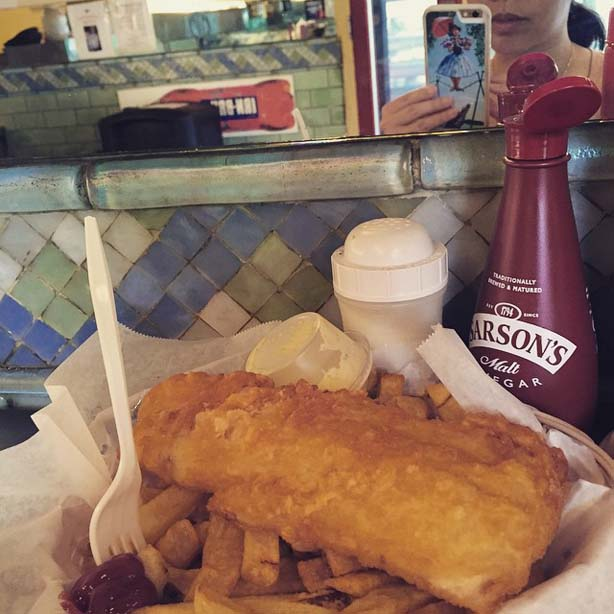 a salt and battery fish n chips nyc greenwich village
