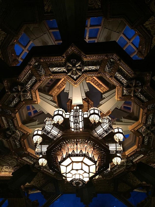 ceiling at pantages hollywood